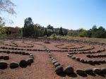 The labyrinth at The Lodge, Sedona az